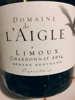 2014 Domaine de l'Aigle, Limoux Chardonnay 2014 Gerard Bertrand, Languedoc-Roussillon, France