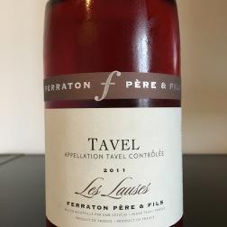 2011 Ferraton Père & Fils, Tavel Les Lauses, Rhône, France