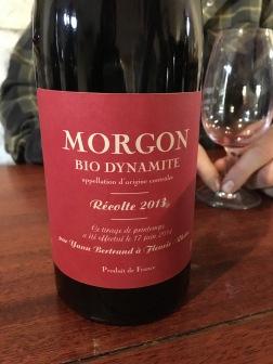 Les Bertrand, Morgon Bio Dynamite, Beaujolais, France