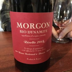 Les Bertrand, Morgon Bio Dynamite, Beaujolais, France