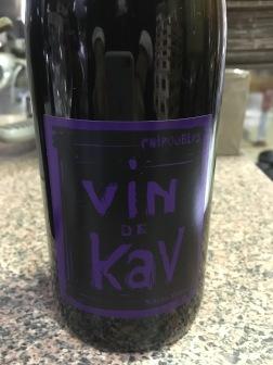 Domaine Karim Vionnet, Chiroubles Vin de Kav, Beaujolais, France