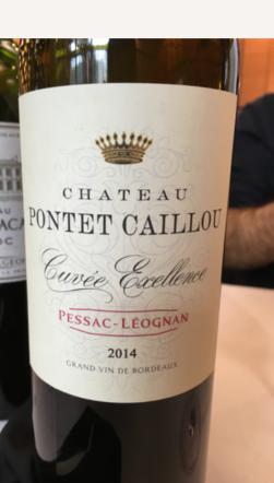 Château Pontet-Caillou, Pessac-Leognan Cuvée Execellence, Bordeaux, France