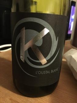 L'oustal Blanc, Vin de Table Vuvée K, Languedoc-Roussillon, France