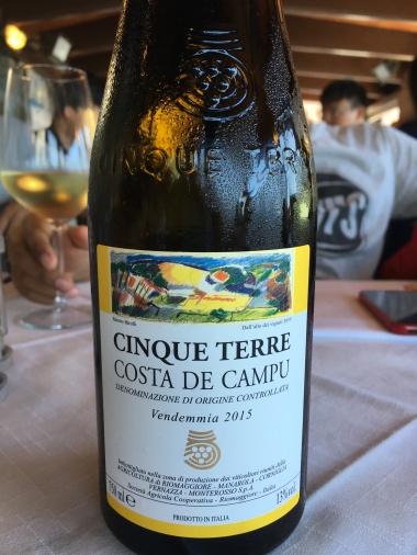 Cinque Terre white wine - Costa de Campu