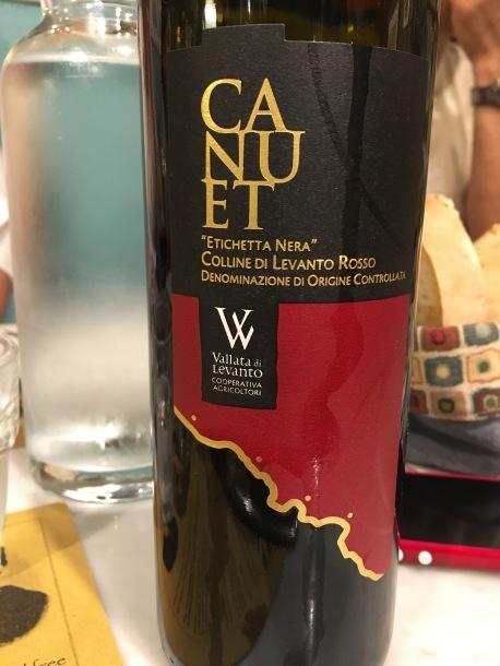 """Canuet """"Etichetta Nera"""" Colline di Levanto Rosso"""