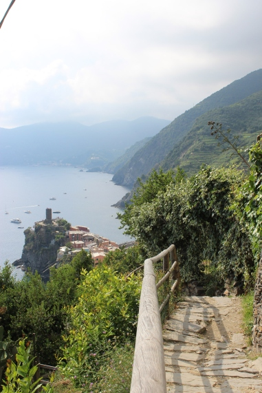 Trail from Corniglia to Vernazza