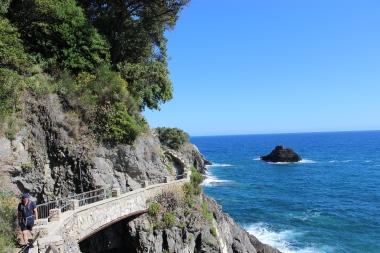 Trail from Vernazza to Monterosso al Mare